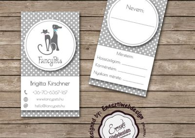 FancyPets businesscard