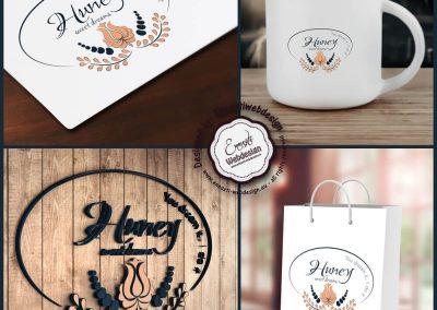 Huney logo collection