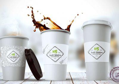 K5 Papercup design