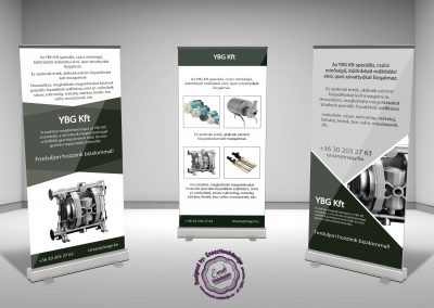 YBG roll-up design