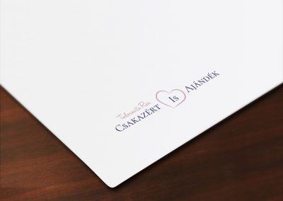 Csakazertisajandek Logo Design